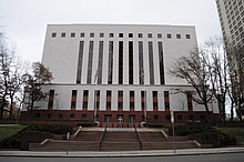 William K. Nakamura Federal Courthouse from the West