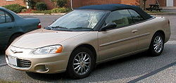 Chrysler Sebring Gtc Savannah Used Car Sell