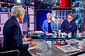 Secretary Kerry Chats With 'Morning Joe' Co-Hosts Scarborough, Brzezinski Before Appearing on MSNBC Program in New York (26159251312).jpg