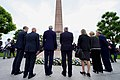 Secretary Kerry Lays Flowers at Monument of Remembrance in Luxembourg City (28243087022).jpg