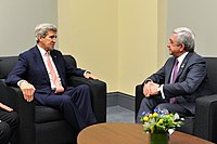 Secretary Kerry Meets With Armenian President Sargsyan at the 2016 Nuclear Security Summit in Washington (25902987910).jpg