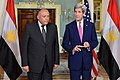 Secretary Kerry and Egyptian Foreign Minister Shoukry Address Reporters Before Their Bilateral Meeting in Washington (26141507705).jpg