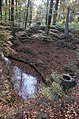 Seeping stream valley for watercapture out of the hilly surroundings - panoramio.jpg
