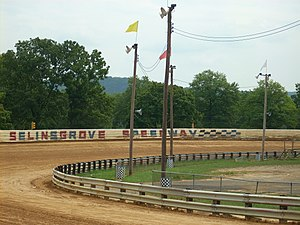 Selinsgrove Speedway - Another view of Selinsgrove Speedway