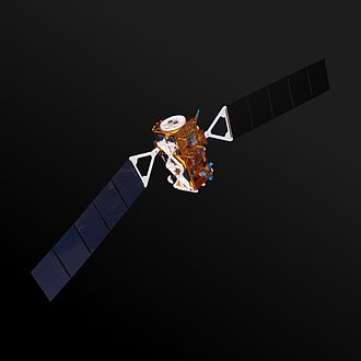 Sentinel-1A - Model of a Sentinel-1 satellite (radar antenna missing)