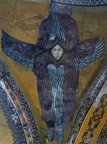 Файл:Seraph (Hagia Sophia).jpg
