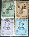 Serie 150 anniversario della nascita di Gioacchino Rossini - francobolli del Regno d'Italia - 1942.jpg