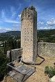 Serravalle Pistoiese, rocca nuova (rocca di Castruccio), torre esagonale 02.jpg