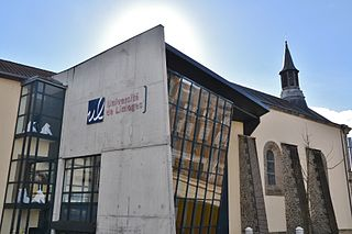 University of Limoges French university located in Limoges, Limousin