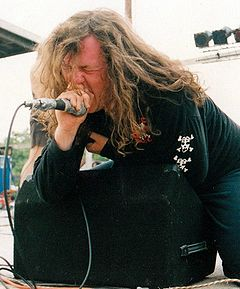 Seth with AxCx at Relapse Festival 1993 crop