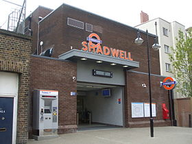 Image illustrative de l'article Shadwell (métro de Londres)