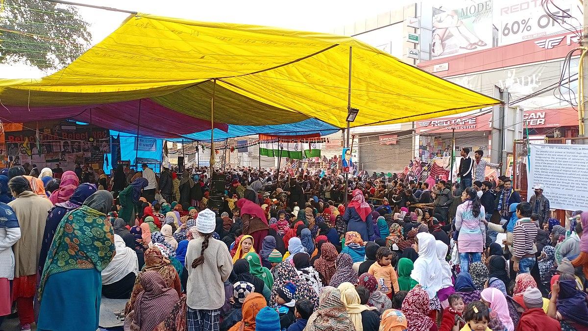 Manifestación en Shaheen Bagh, Nueva Delhi