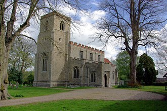 Shalford, Essex - Image: Shalford church geograph.org.uk 405693