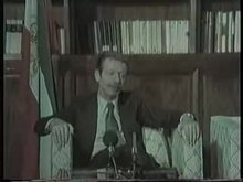 پرونده:Shapour Bakhtiar interview, 28 January 1979.webm