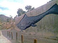 Shonisaur Painting at Berlin-Ichthyosaur State Park (3314357739).jpg