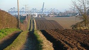 Shotley Peninsula - Shotley – rolling fields – geograph.org.uk – 1120722