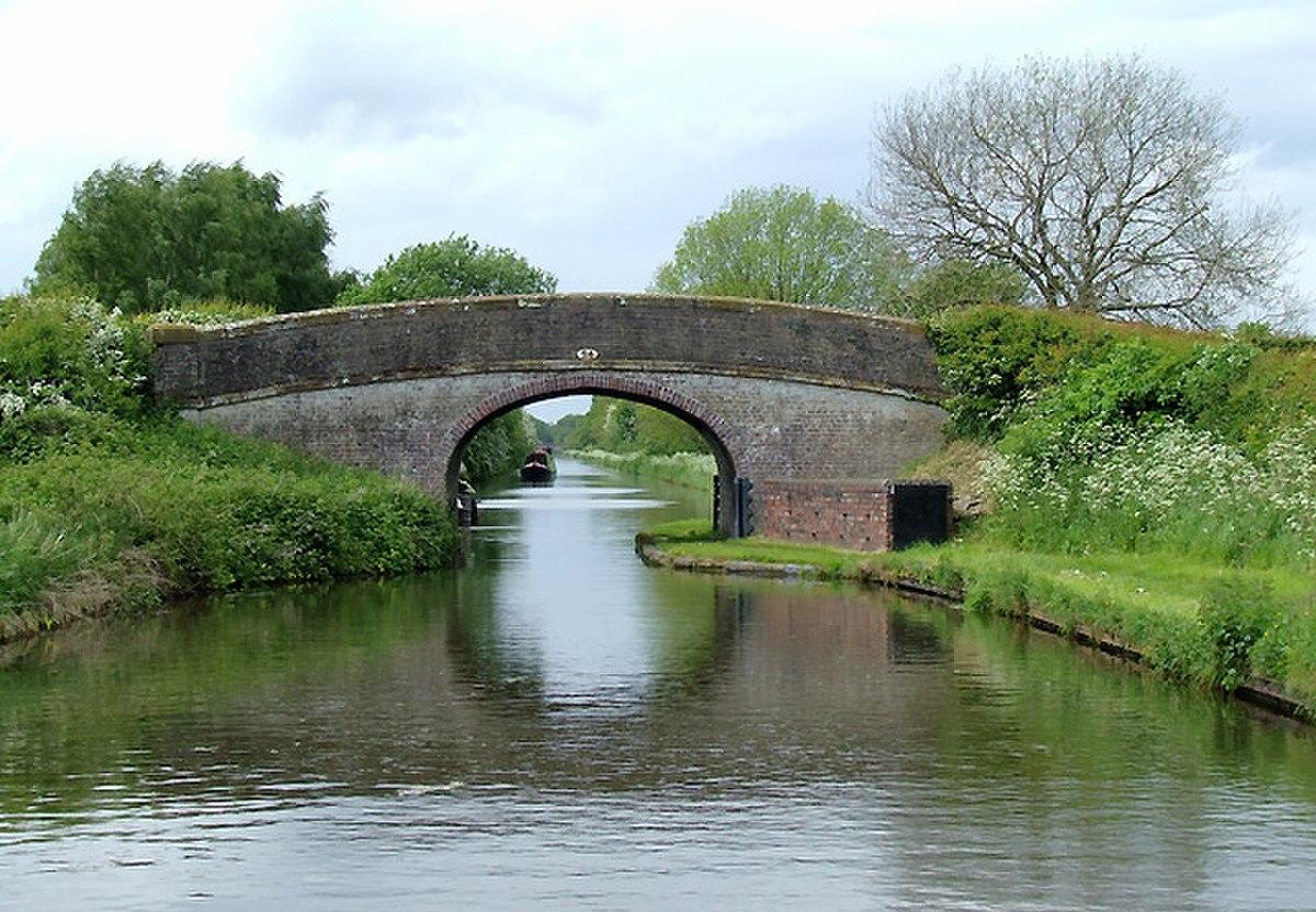 Shropshire Union Canal Bridge No 24, near Church Eaton, Staffordshire - geograph.org.uk - 1383815.jpg