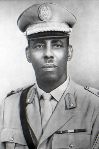 Siad Barre - Military portrait of Major General Mohamed Siad Barre, c. 1970