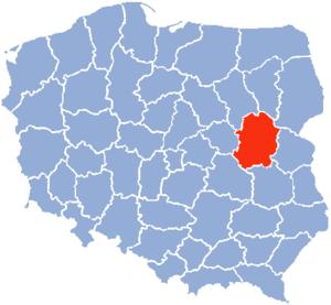 Siedlce Voivodeship - Siedlce Voivodeship