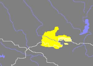 Dukha people - Image: Siedlungsgebiete der Tiva und Duva