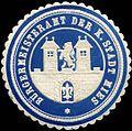 Siegelmarke Bürgermeisteramt der K. Stadt Mies W0313850.jpg