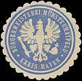 Siegelmarke Bürgermeisterei Münstermaifeld Kreis Mayen W0382960.jpg