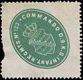 Siegelmarke Commando des 9. K.S. Infanterie Regiments No. 133 W0344204.jpg