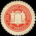 Siegelmarke Der Bezirks - Ausschuss zu Coblenz W0233424.jpg