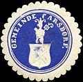 Siegelmarke Gemeinde Carsdorf W0309512.jpg
