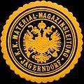 Siegelmarke K.K. Material-Magazinsleitung Jägerndorf W0316980.jpg
