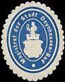 Siegelmarke Magistrat der Stadt Oeynhausen-Bad W0380785.jpg