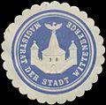 Siegelmarke Magistrat der Stadt Wittenberge W0349232.jpg