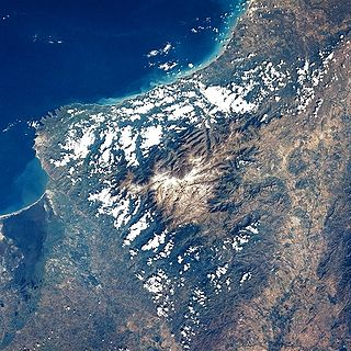 Sierra Nevada de Santa Marta Mountain range in northern Colombia
