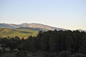 Sierra de Gata - View of the Sierra de Gata range from Acebo.