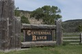 Sign for Centennial Ranch in rural Ouray County, between Ridgway and Montrose, Colorado LCCN2015632484.tif