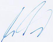 Signature Martin Tomczyk