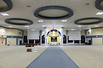 Gurdwara Sahib of San Jose - Interior view