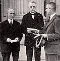 Simeon D Fess, William S Kenyon, & Arthur Woods - Dec 1921 EH.jpg