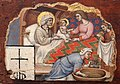 Simone dei crocifissi, sette episodi della vita di maria1396-98 ca, da polittico cospi in s. petronio 02.jpg
