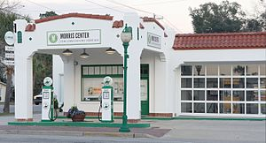 Sinclair Oil Corporation - A restored Sinclair station on the NRHP