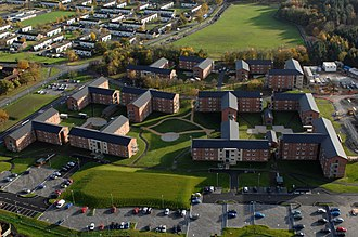 Catterick Garrison - Image: Single Living Accommodation (SLA) at Catterick MOD 45152852