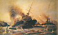 Sinking of Battleship Bouvet at the Dardanelles-TSK.jpg