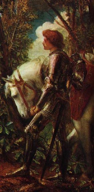 Galahad - Sir Galahad by George Frederic Watts