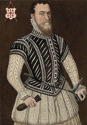 Richard Clough - Sir Richard Clough (c. 1530–1570). Copy (c. 1775) of an Elizabethan portrait