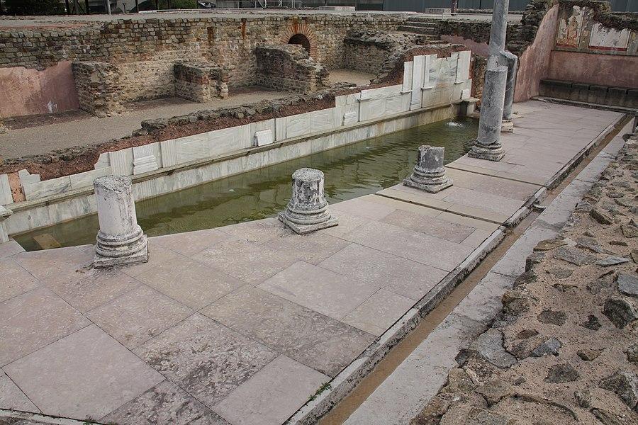 Site archéologique de Saint-Romain-en-Gal, Isère, France