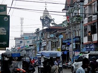 Sittwe - Image: Sittwe, Myanmar (Burma) panoramio mohigan (49)