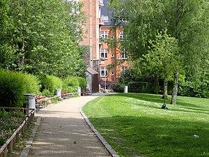 Skanseparken - Image: Skanseparken 02