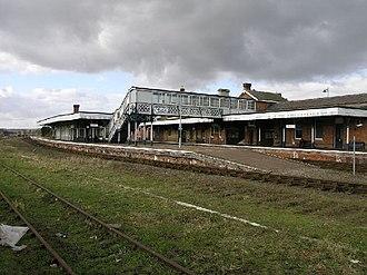 Sleaford railway station - Image: Sleaford Station geograph.org.uk 122462