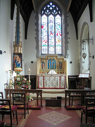 Basilica of Our Lady of Walsingham - Image: Slipper Chapel, Houghton St Giles, Norfolk East end geograph.org.uk 319688