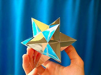 Small stellated dodecahedron - Image: Small Stellated Dodecahedron 2
